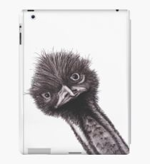 Funny Little Emu iPad Case/Skin