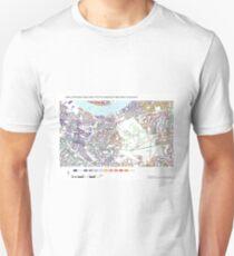 Multiple Deprivation Greenwich West ward, Greenwich Unisex T-Shirt