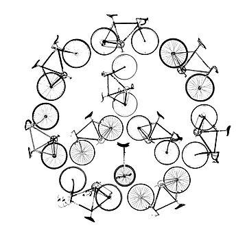 The Peace Cycle by Decibel Clothing by DecibelAdelaide