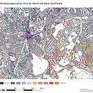 Multiple Deprivation Herne Hill ward, Southwark by ianturton