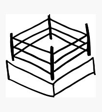 Wrestling RIng Photographic Print