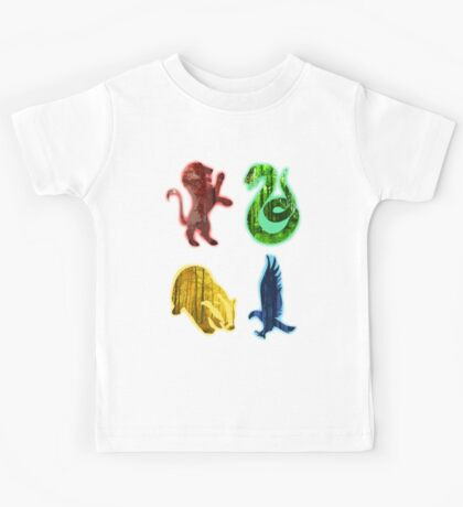 Hogwarts houses forest Kids Tee