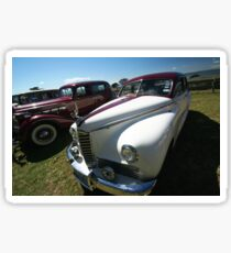 Packard #4 - 1946 Clipper - White & Red Sticker