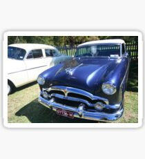 Packard #7 - 1953 Blue Coupe Convertible Sticker