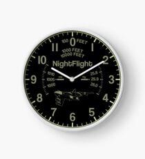 Cartoon B-52 Clock