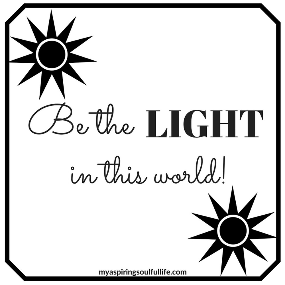 Be The Light In This World by Jacqueline Cooper