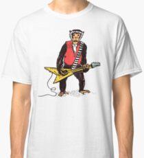 Rocker Monkey with Guitar Classic T-Shirt