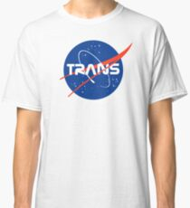 Trans* - Nasa Logo inspired design. Classic T-Shirt