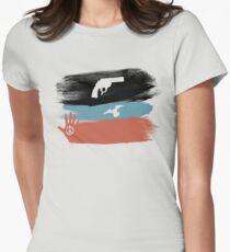 Guns and Peace - T-Shirt Women's Fitted T-Shirt