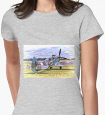 Supermarine Spitfire T9 Women's Fitted T-Shirt