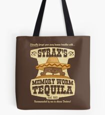 Strax's Memory Worm Tequila Tote Bag