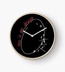 Reloj este es mi diseño n. ° 5