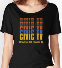 CIVIC TV - VIDEODROME MOVIE Women's Relaxed Fit T-Shirt
