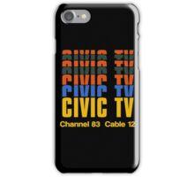 CIVIC TV - VIDEODROME MOVIE iPhone Case/Skin