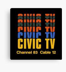 CIVIC TV - VIDEODROME MOVIE Canvas Print