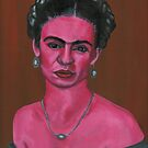 Pink Frida by mjviajes