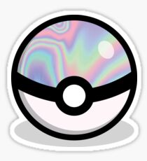 Holographic Pokeball Sticker