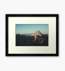 Half Dome X Framed Print