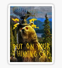 Thinking Cap Sticker