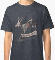 Seltsames Biologie-rustikales Antilopen-Skelett Classic T-Shirt