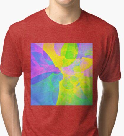Bright #Fractal Art Tri-blend T-Shirt