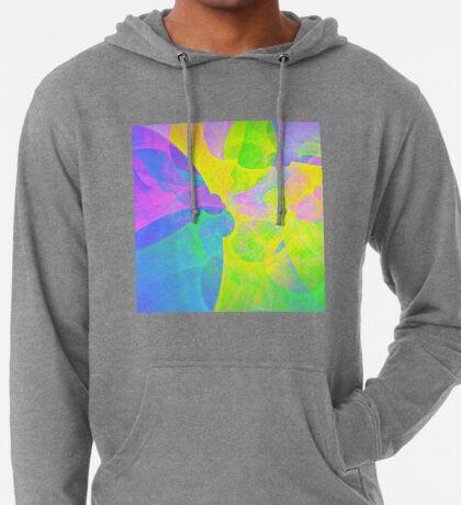 Bright #Fractal Art Lightweight Hoodie