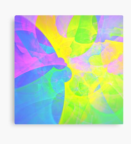 Bright #Fractal Art Metal Print
