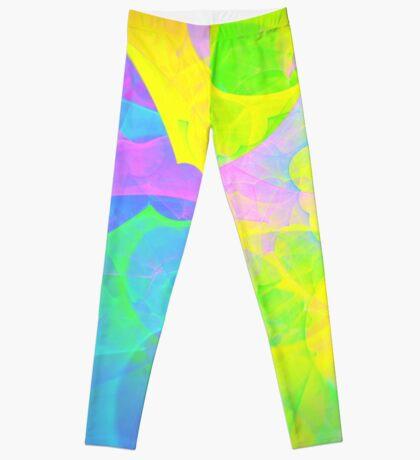 Bright #Fractal Art Leggings