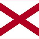 Alabama State Flag Products by Mark Podger