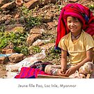 Young Pao girl in Inle Lake, Myanmar by Jacinthe Brault