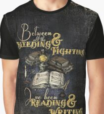 Reading & Writing Graphic T-Shirt
