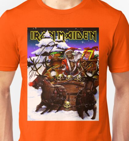 IRON MAIDEN CHRISTMAS XMAS JOWO 3 Unisex T-Shirt