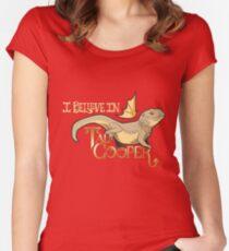 believe galavant Women's Fitted Scoop T-Shirt