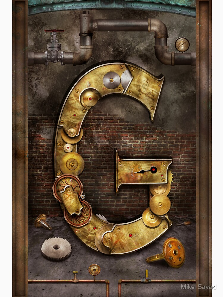 Steampunk - Alphabet - G is for Gears by mikesavad