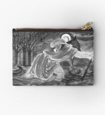 St. Christopher Carrying the Christ Child Studio Pouch