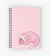 Cuaderno de espiral Bostezo ~