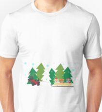 Sleigh Ride Unisex T-Shirt