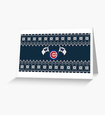 Merry Cubs-mas Greeting Card