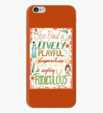 Jane Austen - Pride and Prejudice - Quote iPhone Case