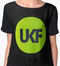 UKF Drum And Bass Women's Chiffon Top