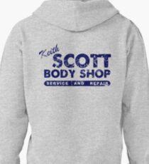 Keith Scott Body Shop Logo Pullover Hoodie