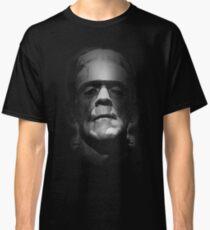 Frankenstein Monster Boris Karloff Face Classic T-Shirt