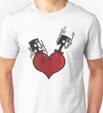 Heart Pistons Unisex T-Shirt