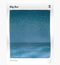 Big Sur - Jack Kerouac Poster