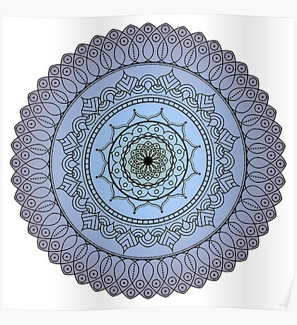 The Watching Mandala Poster