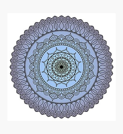 The Watching Mandala Photographic Print