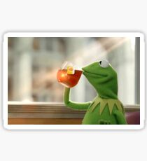 Thats None of My Business - Meme Sticker