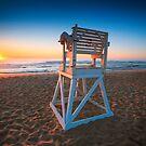 Sunrise On Surfers Paradise Cape Cod by Artist Dapixara