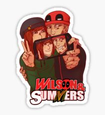 Wilson&Summers fake comic book cover (title-only) Sticker
