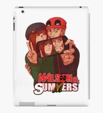 Wilson&Summers fake comic book cover (title-only) iPad Case/Skin